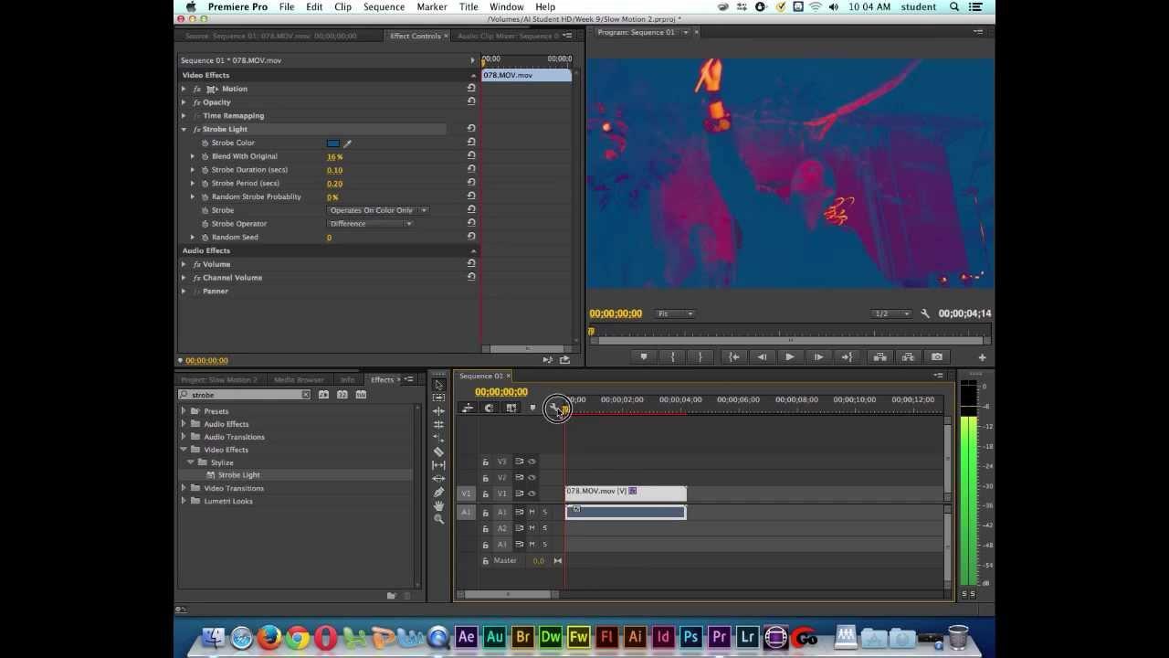 Adobe Premiere CC Tutorial  Strobe Light Effect  YouTube