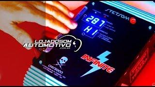 Fonte Automotiva e Carregador Stetsom CHV 3000 12v e Alta Voltagem