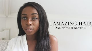 UAMAZING HAIR - ONE MONTH REVIEW