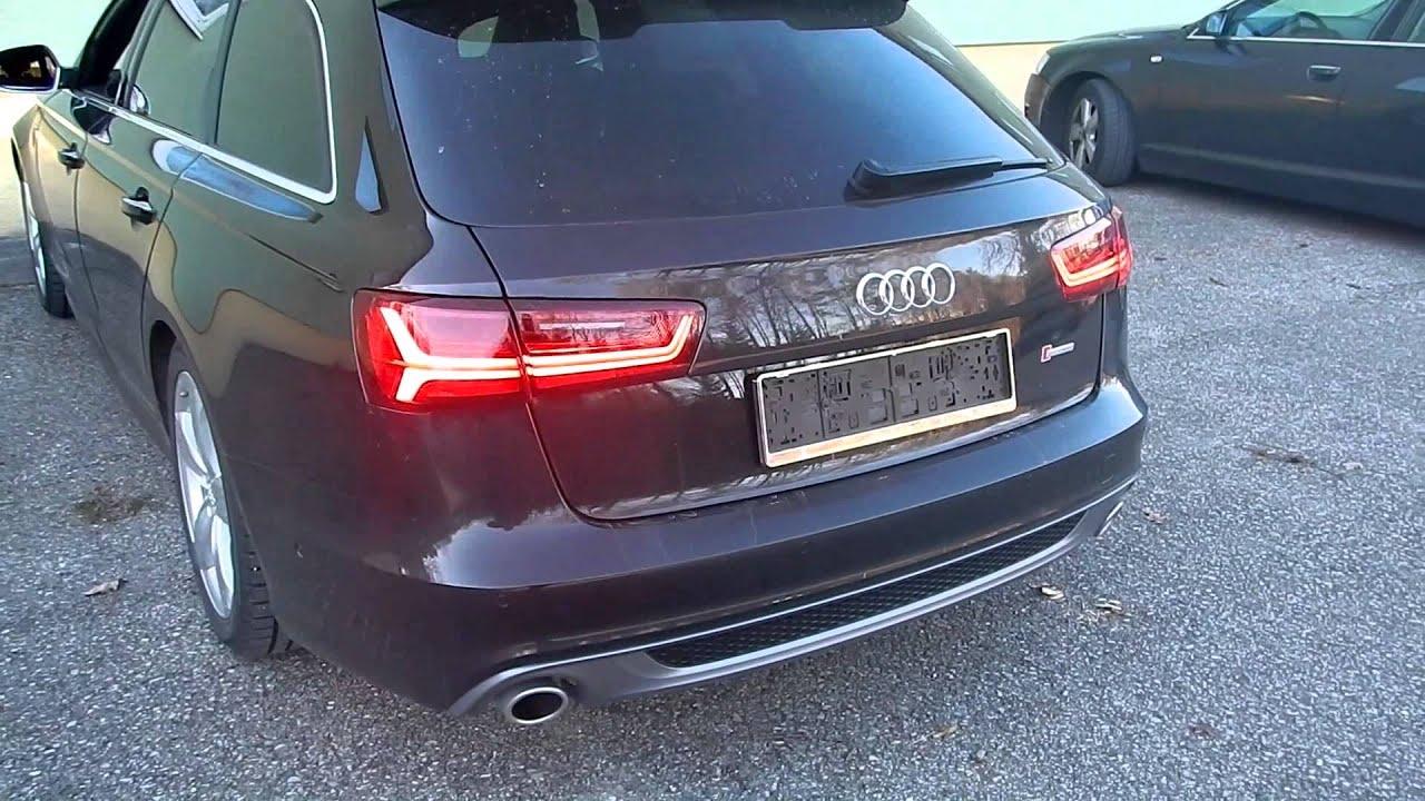 Vorfacelift Audi A6 Avant Umgebaut Auf Facelift