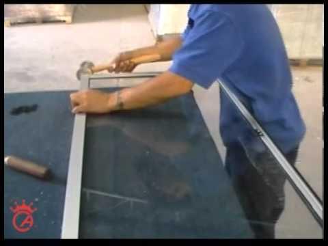 fabricacion de una ventana empresa crown aluminio youtube