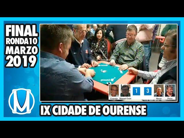 PARTIDA DE MUS - Final del IX Cidade de Ourense 2019 - R10