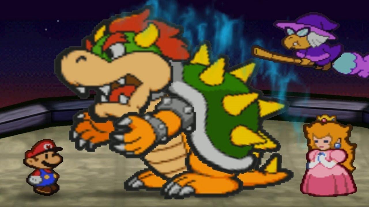 Paper Mario - Final Boss + Ending - YouTube