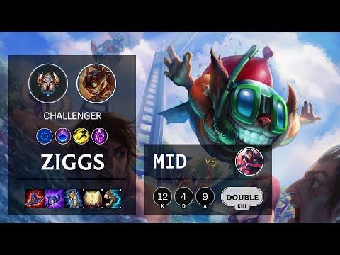 Ziggs Mid vs Irelia - EUW Challenger Patch 10.18