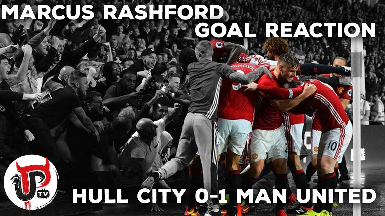Rayakan Gol Marcus Rashford Fans Manchester United Patah