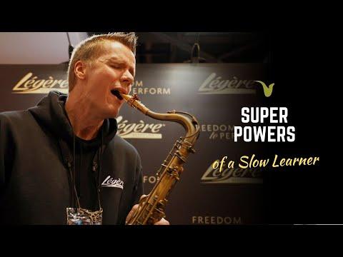 The Secret Super Power Of A Slow Learner - Derek Brown BeatBox Sax