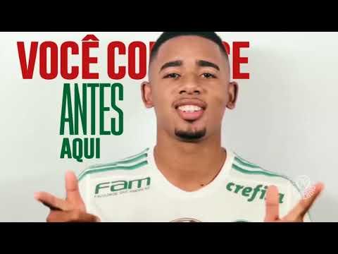 Palmeiras lança o primeiro canal de streaming de futebol do Brasil