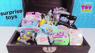 Blind Bag Treasure Chest LOL Surprise Doll Disney Coco Hatchimals Toy | PSToyReviews
