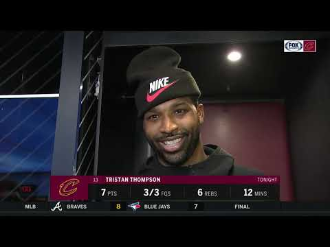 Tristan Thompson on Collin Sexton, jokes Cavs would be a bubble team for the playoffs