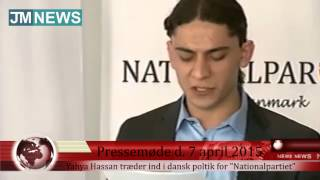 Yahya Hassan træder ind i dansk politik - se hele pressemødet