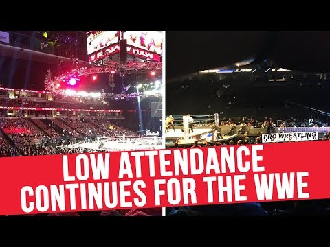 Low Attendance Continues For The WWE... But Why?