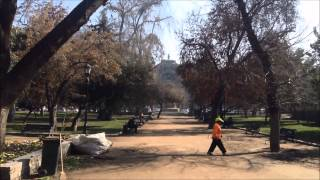 Жизнь в Чили, прогулка по Сантьяго, музей Изящных Искусств(В этом видео я добираюсь из дома на работу, я живу в районе Провиденсья и еду на работу в район Реколета чере..., 2015-08-19T20:20:51.000Z)