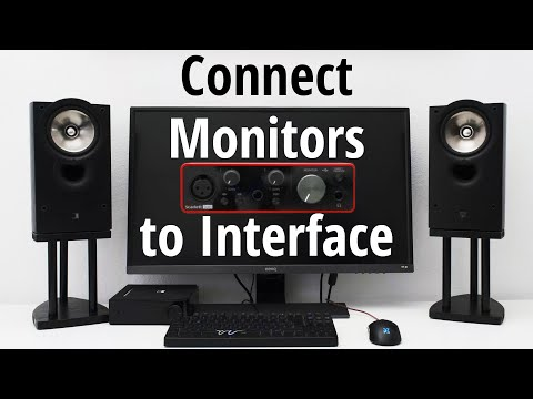 Setup Guide - Connect Studio Monitors To Audio Interface (best Settings)