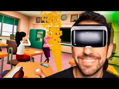SIMULADOR DEL GAMBERRO DE LA CLASE en REALIDAD VIRTUAL (Bad Boy Simulator) - ElChurches