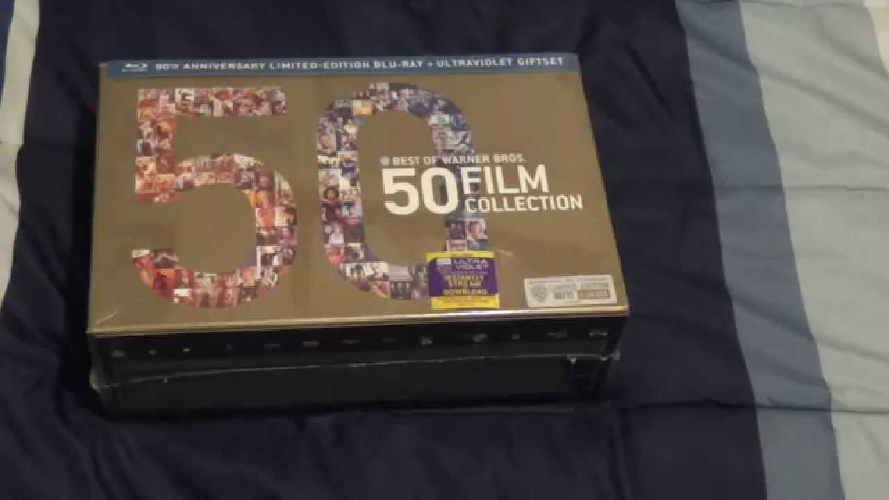 tag unboxing best of warner bros 50 film collection blu. Black Bedroom Furniture Sets. Home Design Ideas