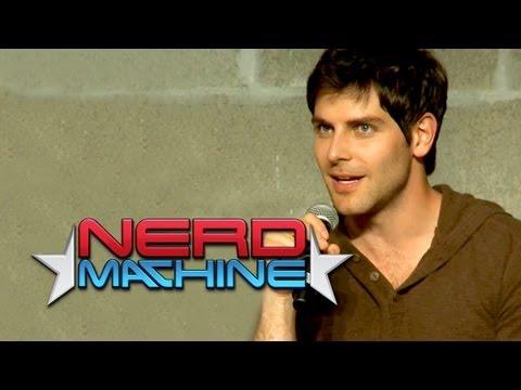 """Grimm"" Conversation with Cast and Crew - Nerd HQ (2012) HD - David Giuntoli"
