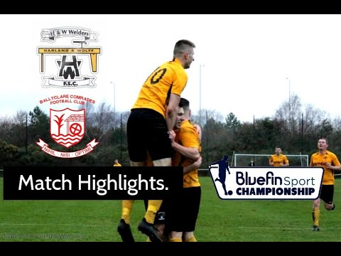 H&W Welders Ballyclare Goals And Highlights