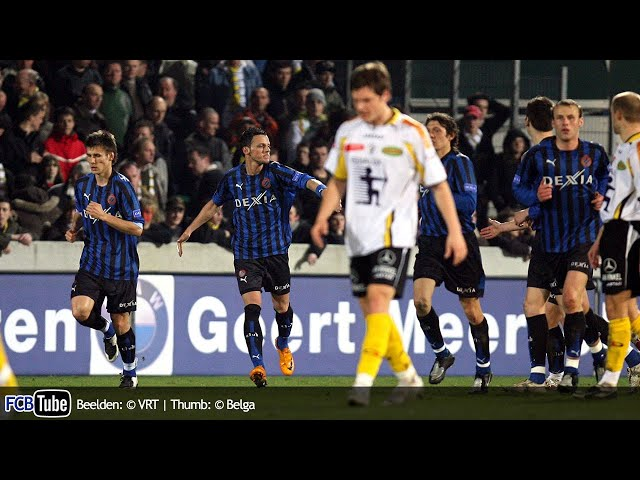 2007-2008 - Jupiler Pro League - 23. Sporting Lokeren - Club Brugge 0-1