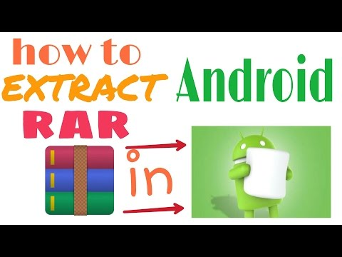 How To Open Rar File On Android