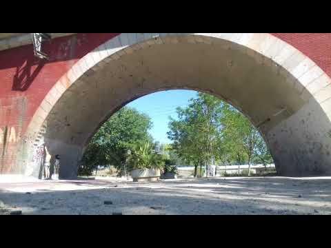 Puente de los franceses escalada deportiva desplome