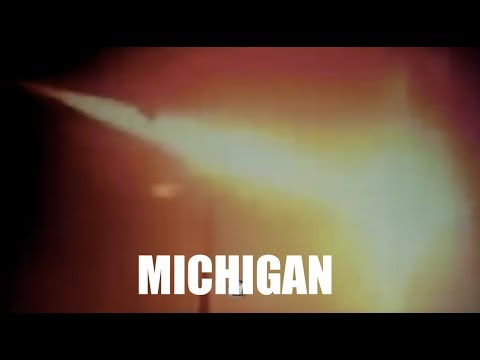 Michigan fireball SO strong it was detected on earthquake instrument!