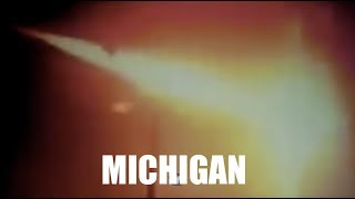 January 17, 2018: Meteor over Michigan enters atmosphere with incre...