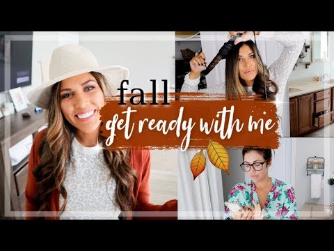 FALL GET READY WITH ME 2019 | FALL OUTFIT IDEAS + HOW I CURL MY HAIR