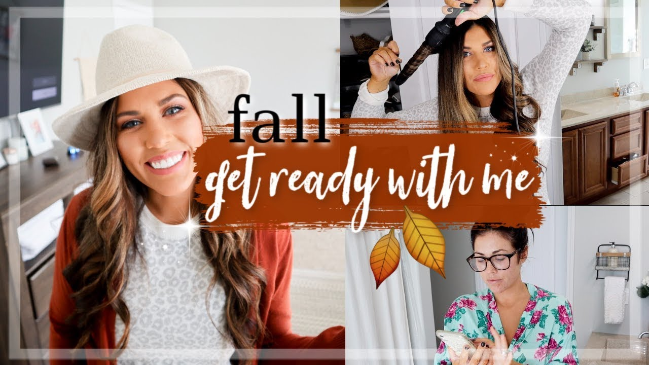 [VIDEO] - FALL GET READY WITH ME 2019 | FALL OUTFIT IDEAS + HOW I CURL MY HAIR 2