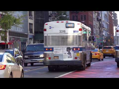 MOTOR COACH INDUSTRIES D SERIES BUS VIDEO COMPILATION