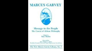 Marcus Garvey: Message to the People: Lesson 10: Economy