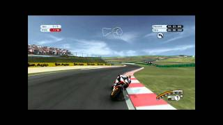 MotoGP 08 - Xbox 360. Sachsenring sunny successful race.