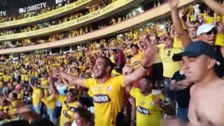 Barcelona 5 Emelec 0 gol de Alvez de penal visto desde palco central
