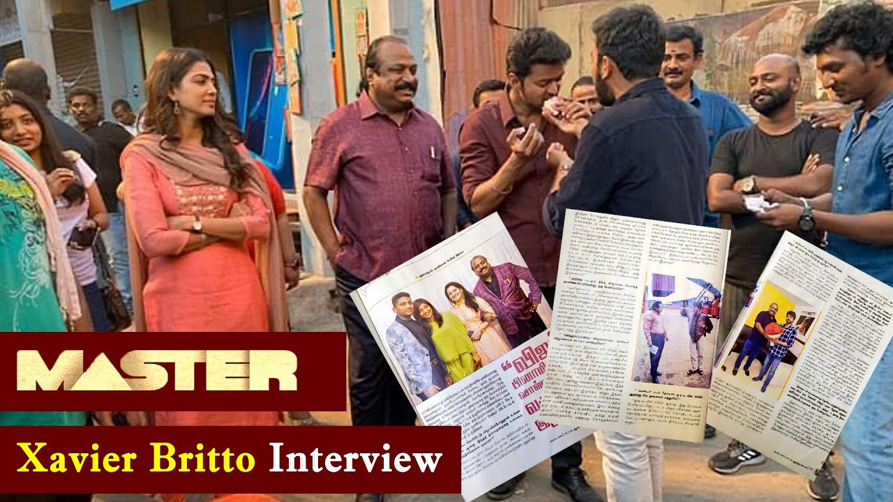 Master Producer Xavier Britto Interview  |  Diwali Release Update  |  Thalapathy Vijay