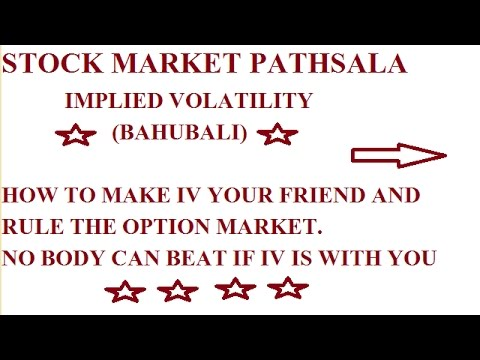 OPTION TRADING STRATEGY IN INDIA(implied Volatility)