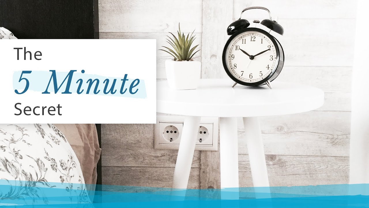 5-minute Secret to Improve Efficiency   Jack Canfield