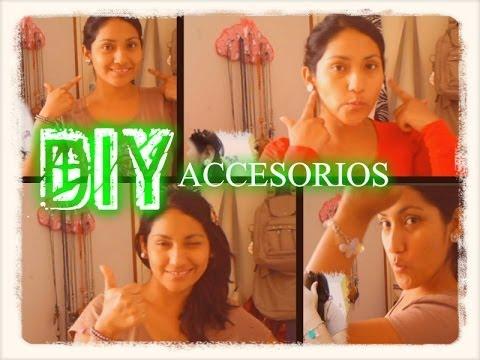 DIY ♥ Renueva y crea accesorios ♥
