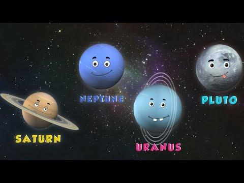 pianeti canzone imparare i nomi dei pianeti sistema solare rime educativo canzone Planets Song