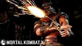 Mortal Kombat X - Erron Black Combo Video By Vman
