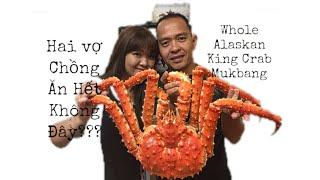 Trốn Con Để Làm Thịt Nguyên Con Cua Hoàng Đế Khổng Lồ - Whole King Crab Mukbang