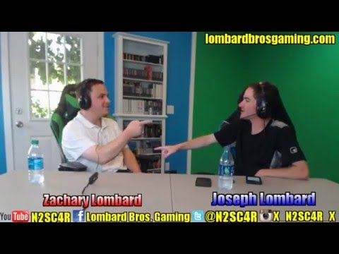 Let The Show Begin! - Lombard Bros. Talk Show [Episode 1]