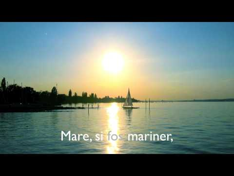Joan Rovira canta Miquel Martí i Pol - MARE, SI FOS MARINER