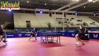 Table Tennis - Vladimir Sidorenko Vs Tobias Hippler - (Private Recording)