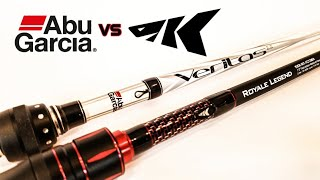 Abu Garcia Veritas vs KastKing Royale Legend (2018 Rod Comparison)
