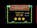 4 ACHIEVEMENTS & 2 QUESTS COMPLETED IN ONE LEVEL?! Geometry Dash - Clubstep [2.1] (3 secret coins)