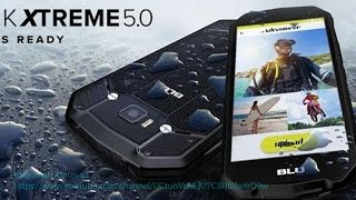 """BLU Tank Xtreme -5.0"""" Review Water and Shock Resistant Smartphone - Black"""