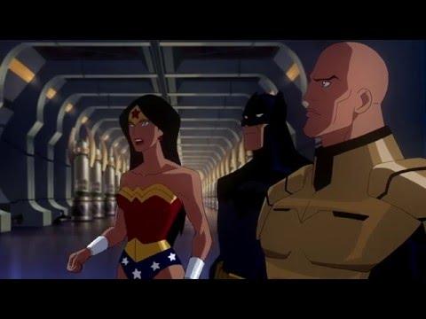 Смотреть мультфильм онлайн лига справедливости кризис двух миров