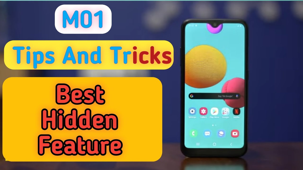 Samsung galaxy M01 Tips And Tricks, Best Hidden Feature in Samsung galaxy M01