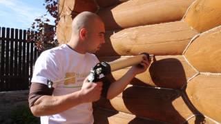 Теплый шов - технология нанесения(Теплый шов для деревянного дома - технология нанесения для тех, кто готовиться утеплять герметиком дом..., 2014-11-25T06:18:25.000Z)