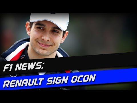 F1 News: Renault Sign Ocon