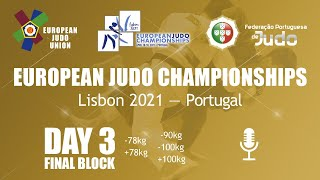Day 3: Finals - European Judo Championships 2021
